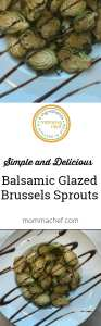 Quick and Easy Balsamic Brussels Sprouts