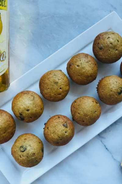 Delicious Banana Liqueur Muffins