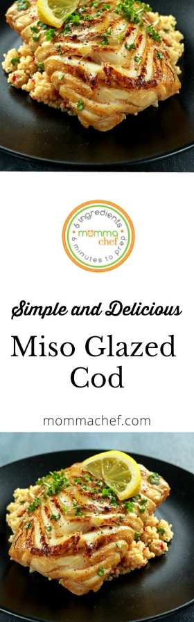 Quick and Easy Miso Glazed Cod