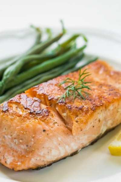 Quick and Easy Maple Honey Glazed Salmon