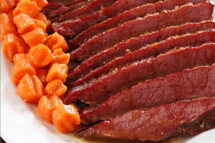 Honey Glazed Corned Beef
