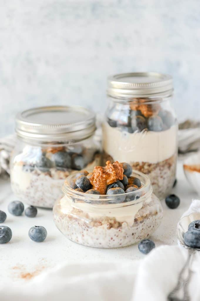 mason jar parfaits