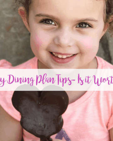 Disney Dining Plan Tips
