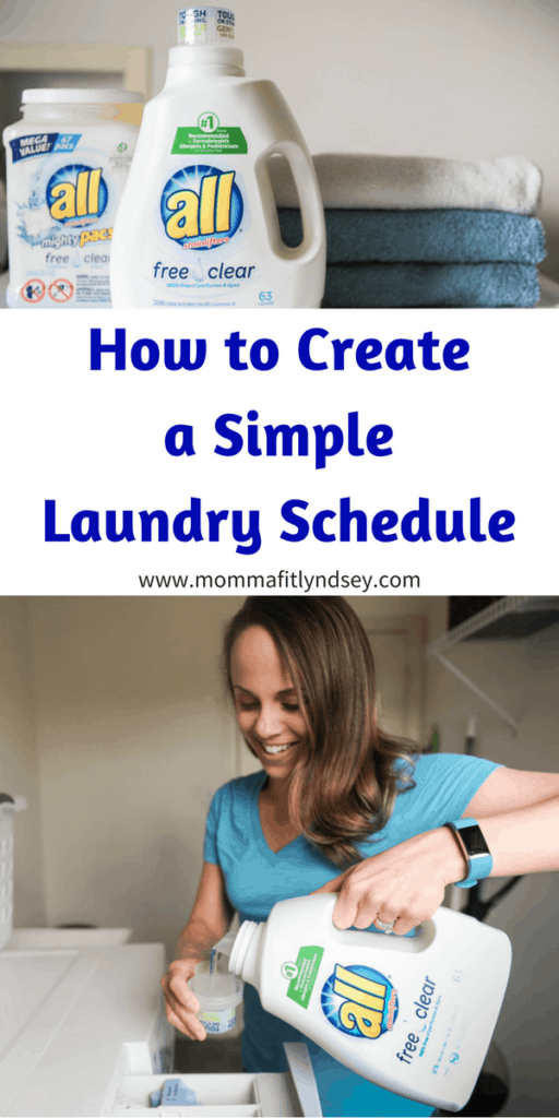 simple laundry schedule