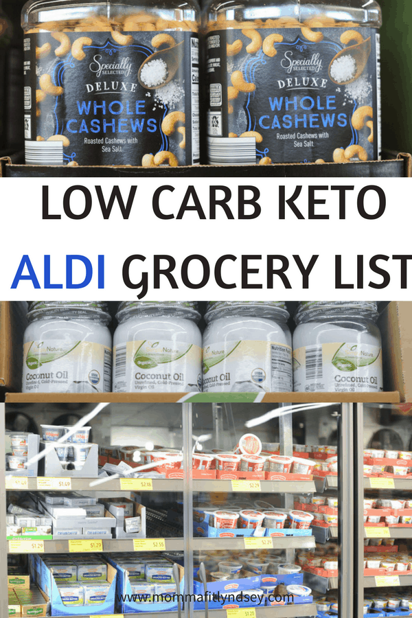 low carb aldi grocery list