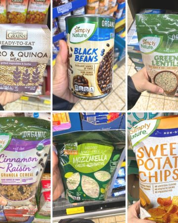 plant based items you can purchase at Aldi