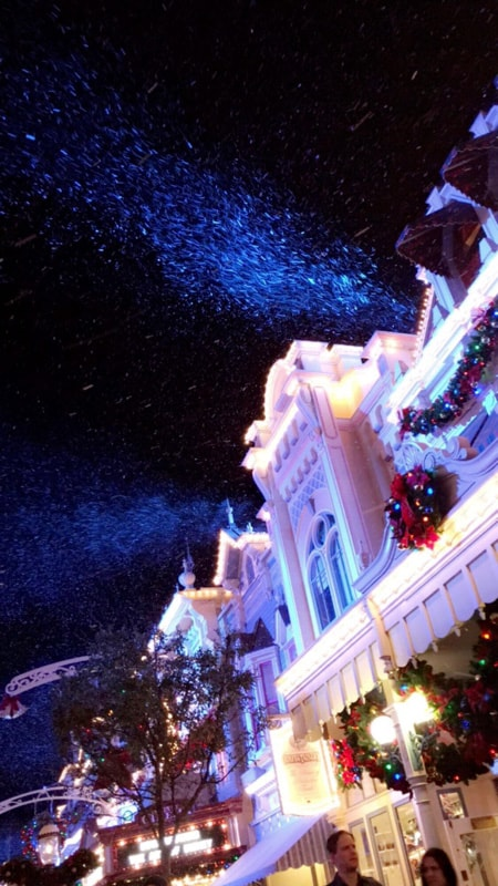 Main Street U.S.A. Disney Christmas
