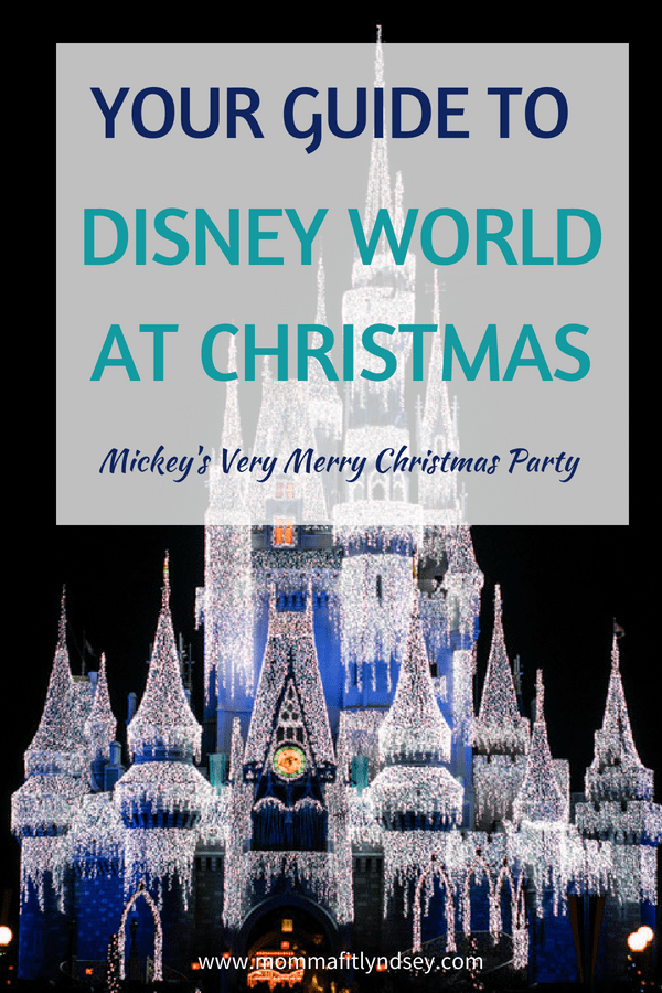 Disney World Christmas Party