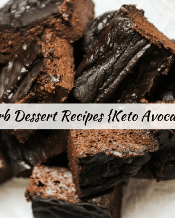 best low carb dessert recipes for keto diet