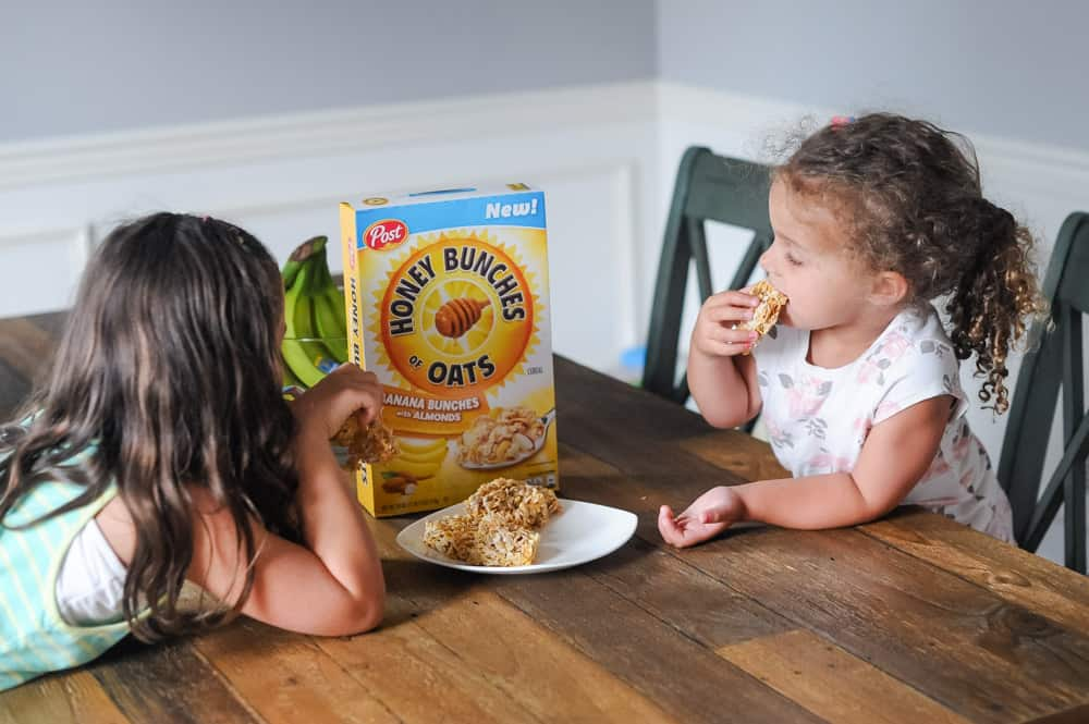 cereal bar recipe for quick breakfast for kids