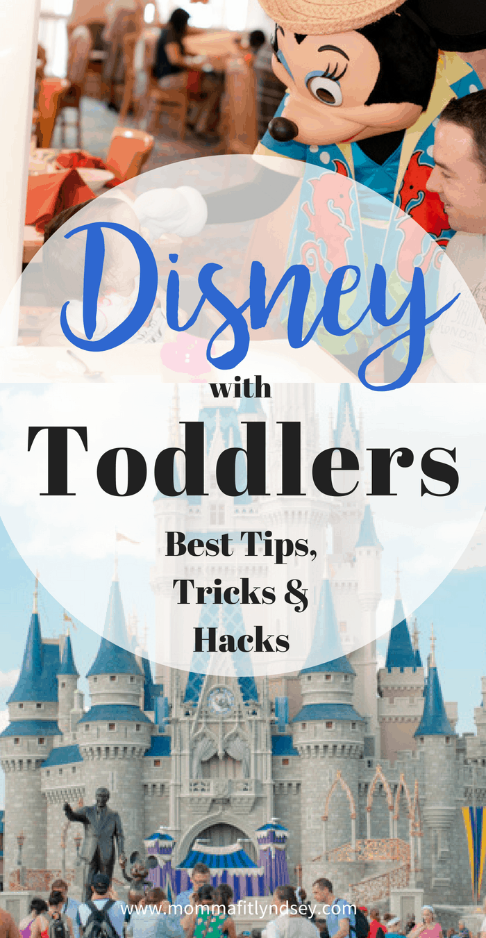 best tips for Disney world with a toddler or baby