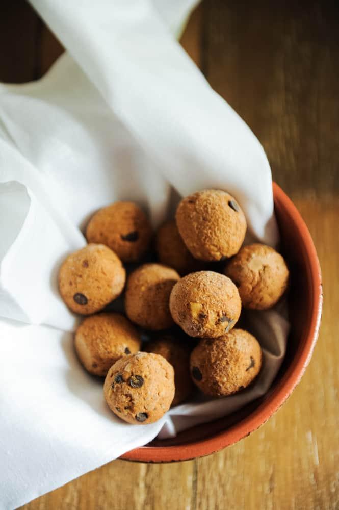 pumpkin protein balls recipe