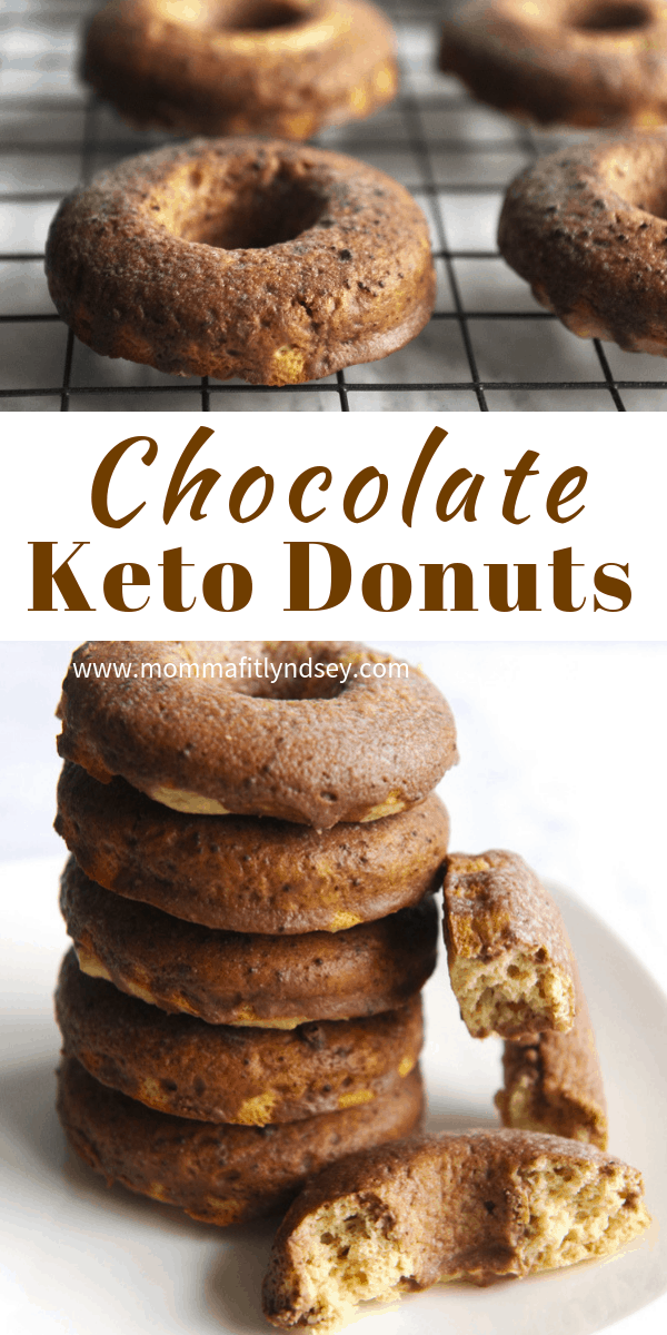 chocolate keto donuts are an easy low carb dessert or keto snack