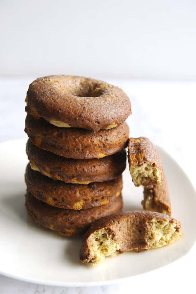 chocolate keto donuts are an easy keto breakfast recipe