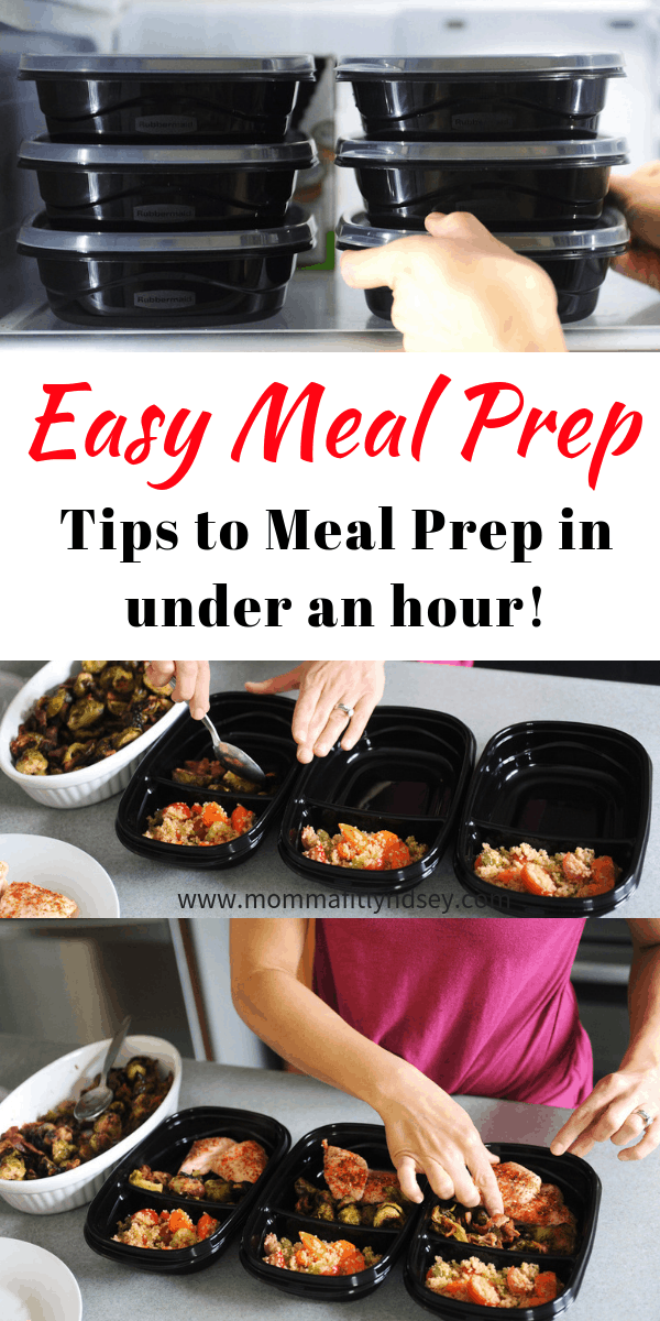 tips for easy meal prep for beginners