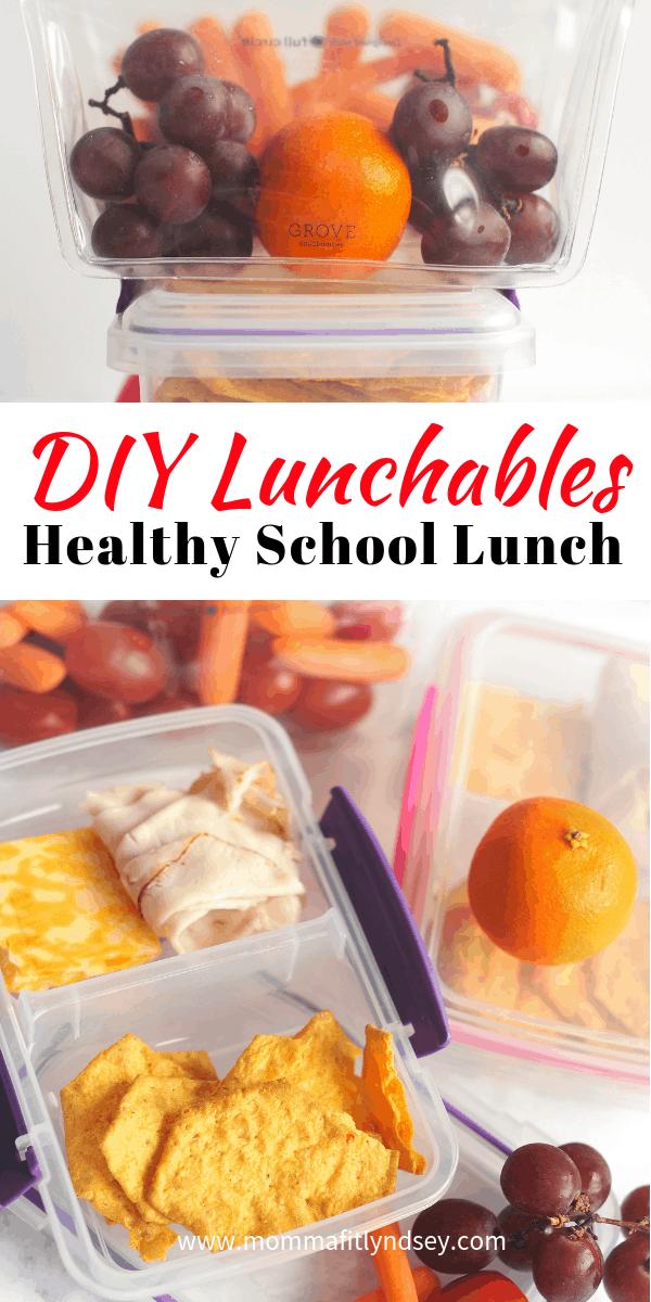 healthy school lunch ideas for elementary or preschool kids