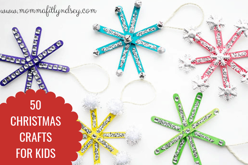 top 50 easy crafts to do with kids and preschoolers during Christmas