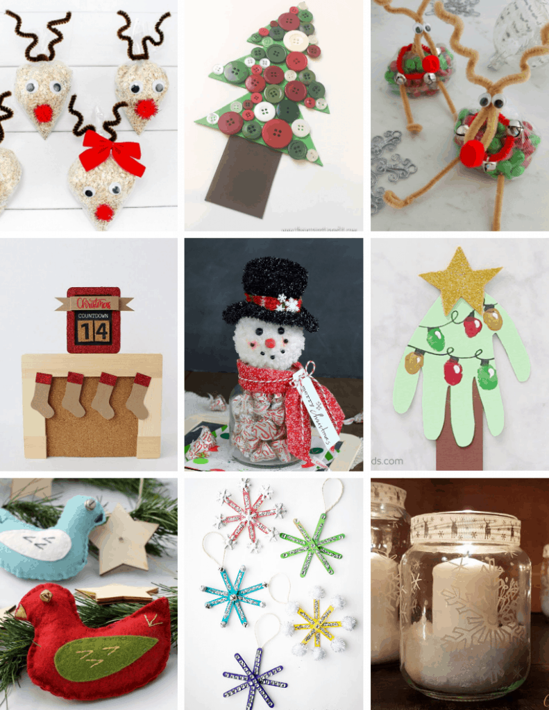 easy christmas crafts for kids DIY
