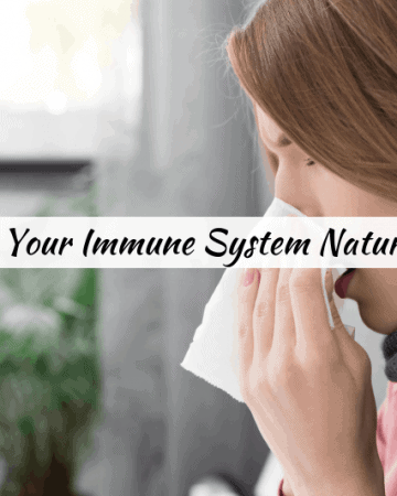 boost your immune system naturally with healthy food for immunity, and top tips for naturally increasing immune system strength