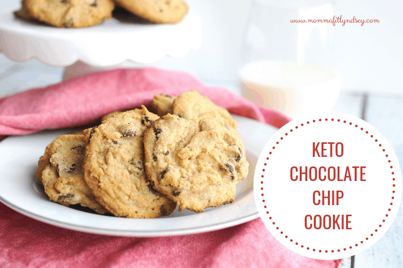 keto chocolate chip cookie recipe that is low carb for keto christmas baking