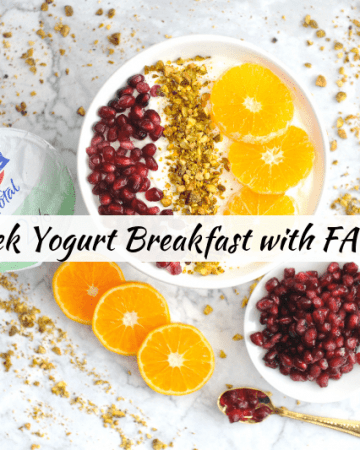 greek yogurt breakfast parfait and breakfast bowl recipes for quick healthy breakfast with high protein