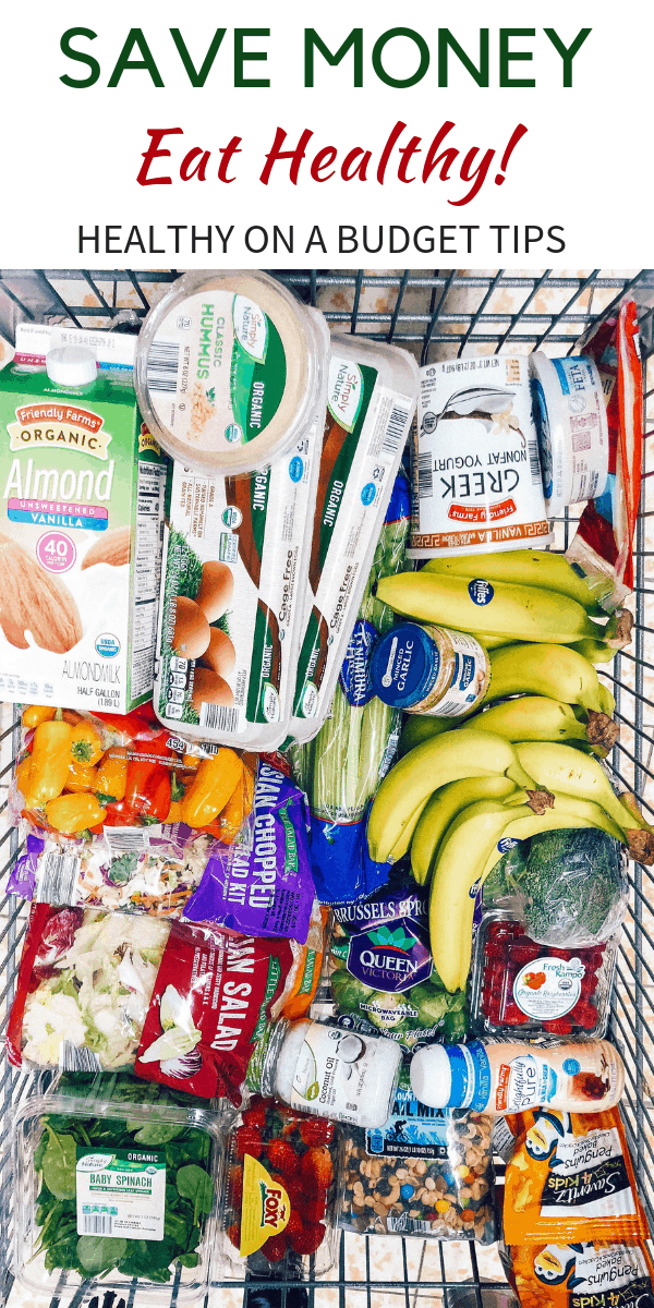 Looking for budget tips to reduce grocery spending? healthy Lifestyle Blogger Momma Fit lyndsey is sharing her monthly meal plan to help you keep your grocery budget in line