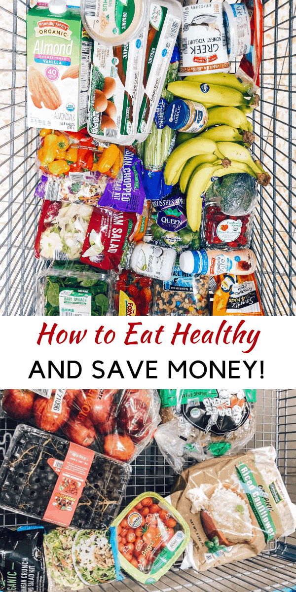 Looking to learn how to eat healthy and save money? healthy Lifestyle Blogger Momma Fit lyndsey is sharing her monthly meal plan to help you keep your grocery budget in line