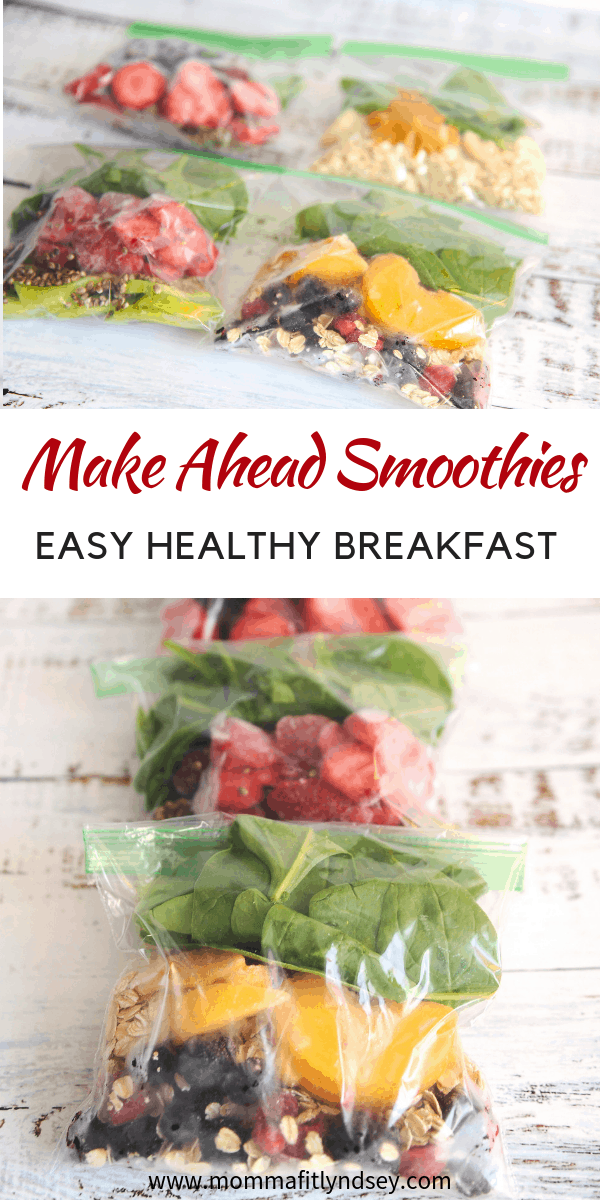 great recipe for a smoothie with almond milk for an easy healthy breakfast