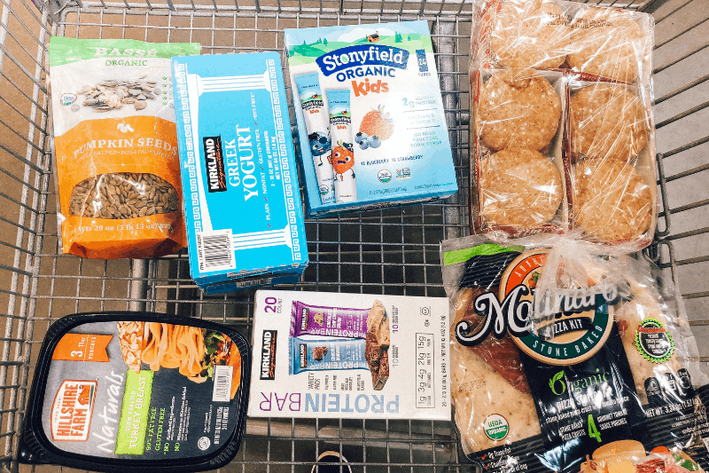 Looking to learn how to eat healthy and spend less at Costco? healthy Lifestyle Blogger Momma Fit lyndsey is sharing her February meal plan to help you keep your grocery budget in control