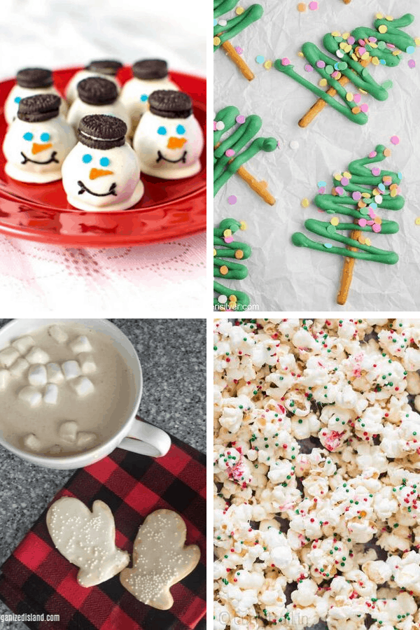 Need ideas for Christmas party snacks? Here are 27 Easy classroom snacks for school parties includingChristmas, winter, and holiday parties.
