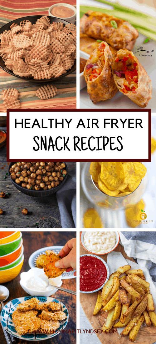 Over 30 Healthy Air Fryer Recipes including air fryer vegetable recipes, air fryer chicken recipes, air fryer fish recipes and more!