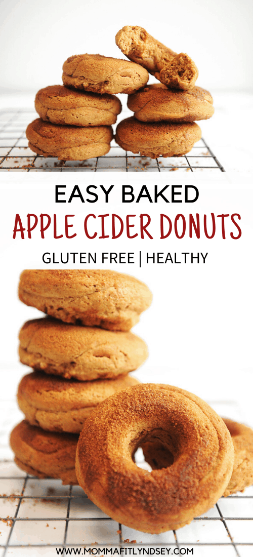 Best Baked Apple Cider Donuts for a quick breakfast idea for cozy fall mornings! easy to make for homemade donuts. Can be made vegan and in the air fryer