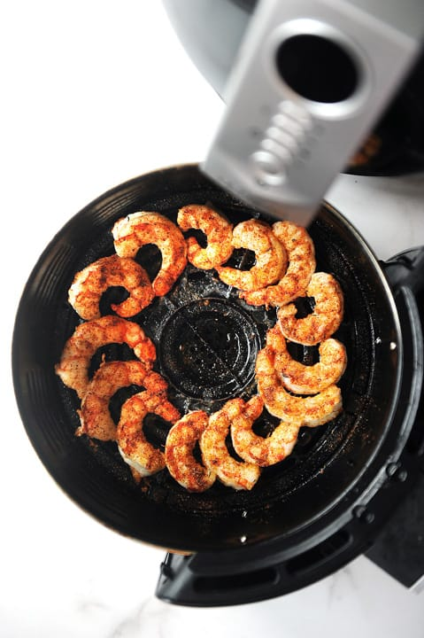 how long to cook shrimp in the air fryer
