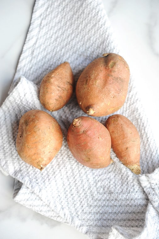 sweet potatoes air fryer recipes