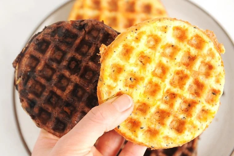 chaffles are a great keto snack that are quick to make and delicious