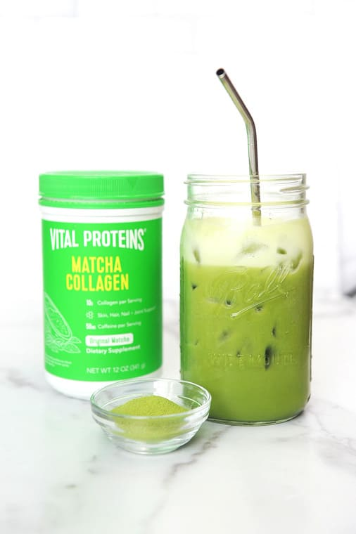 How to Make the best easy Iced Matcha Latte Recipe to Make at Home. Tastes better than Starbucks and great hot or iced. Keto and Vegan friendly and can be made with oat milk, almond milk or coconut milk.