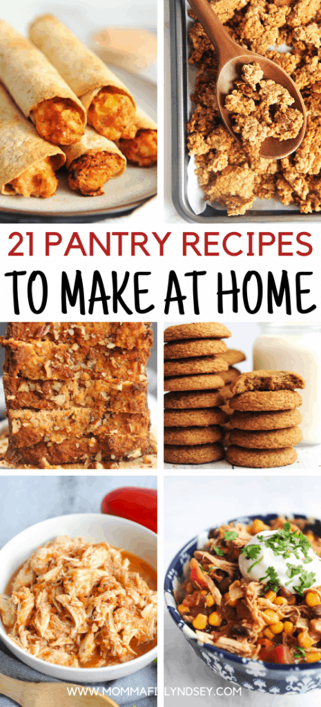 21 easy pantry meal recipes