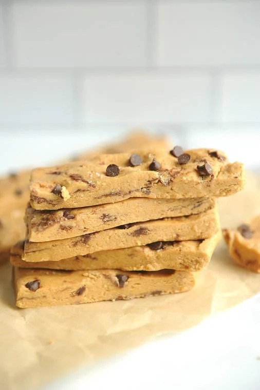 Copycat Perfect Bar peanut butter chocolate recipe you can make at home? No bake homemade perfect bars are vegan, gluten free, dairy free and grain free and quick to make!