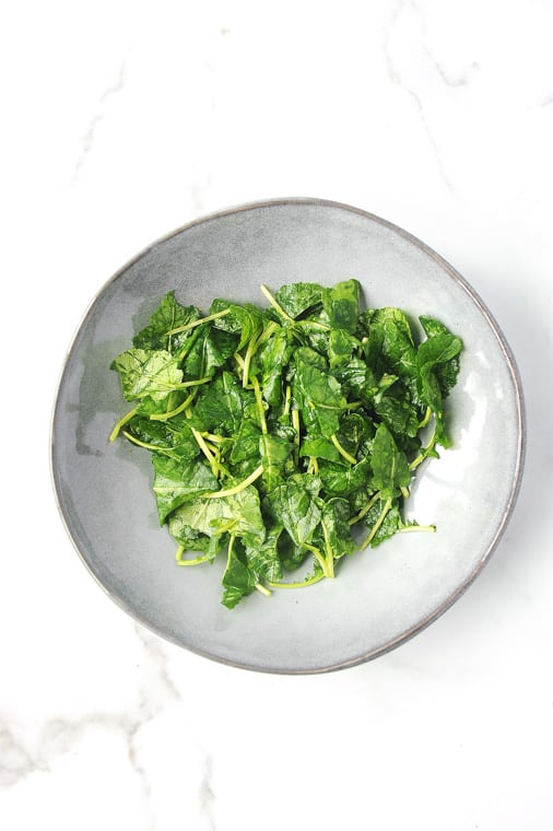 how to use massaged kale for a salad. Directions for why to use massaged kale over raw kale