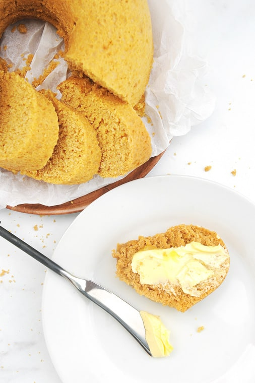 Instant Pot Cornbread is an easy to make side dish for cozy fall and winter soups or as a side for summer barbecues. Moist and buttery, this healthy cornbread will be a family favorite!
