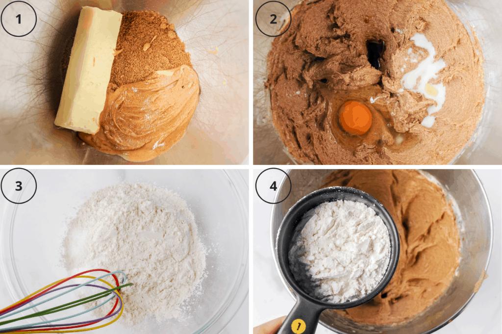 ingredients steps to make cookies