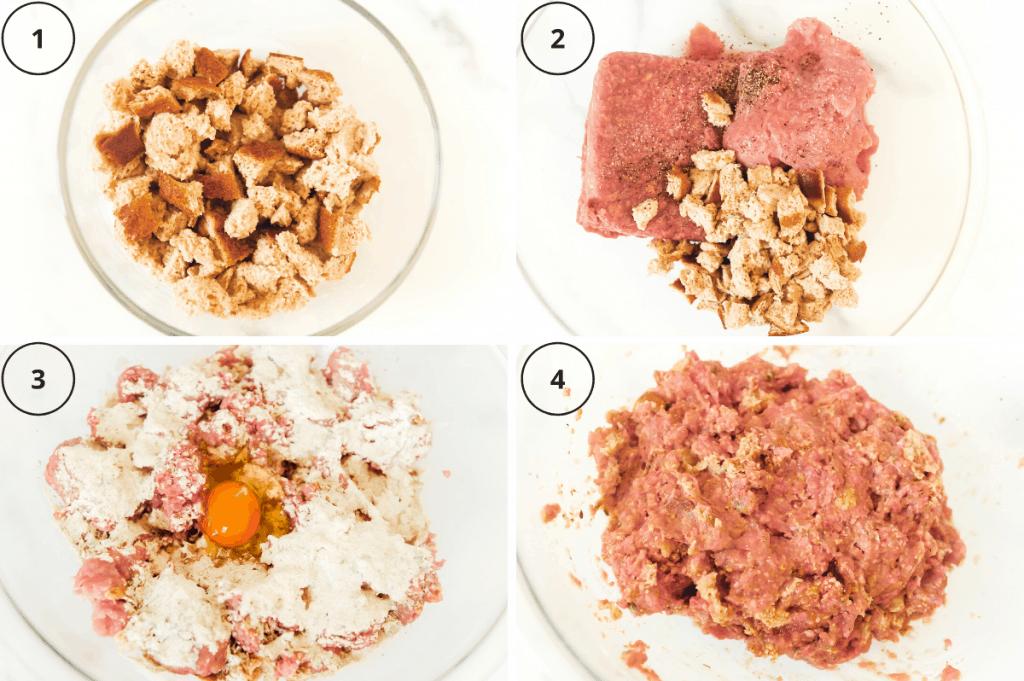 steps for making healthy meatloaf