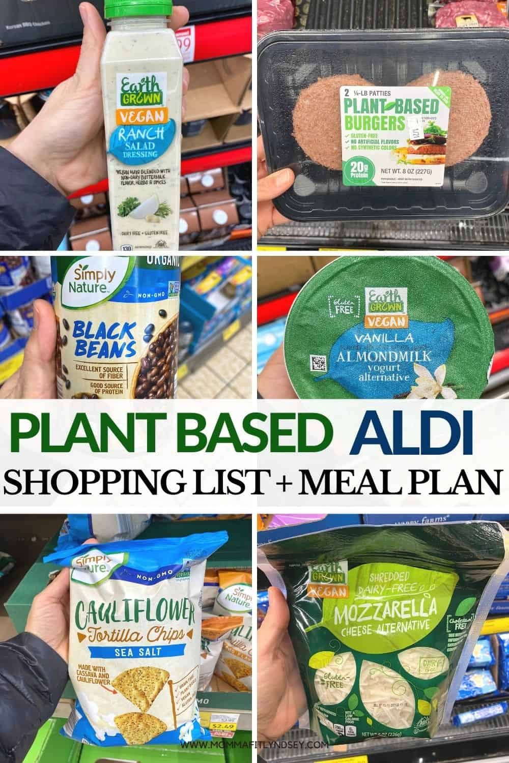 plant based items from aldi