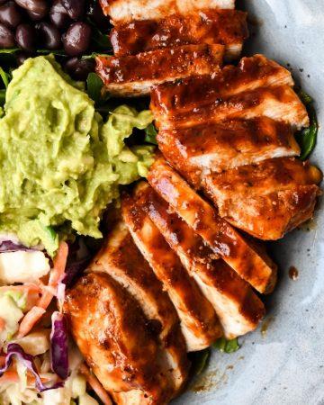 air fryer bbq chicken breast