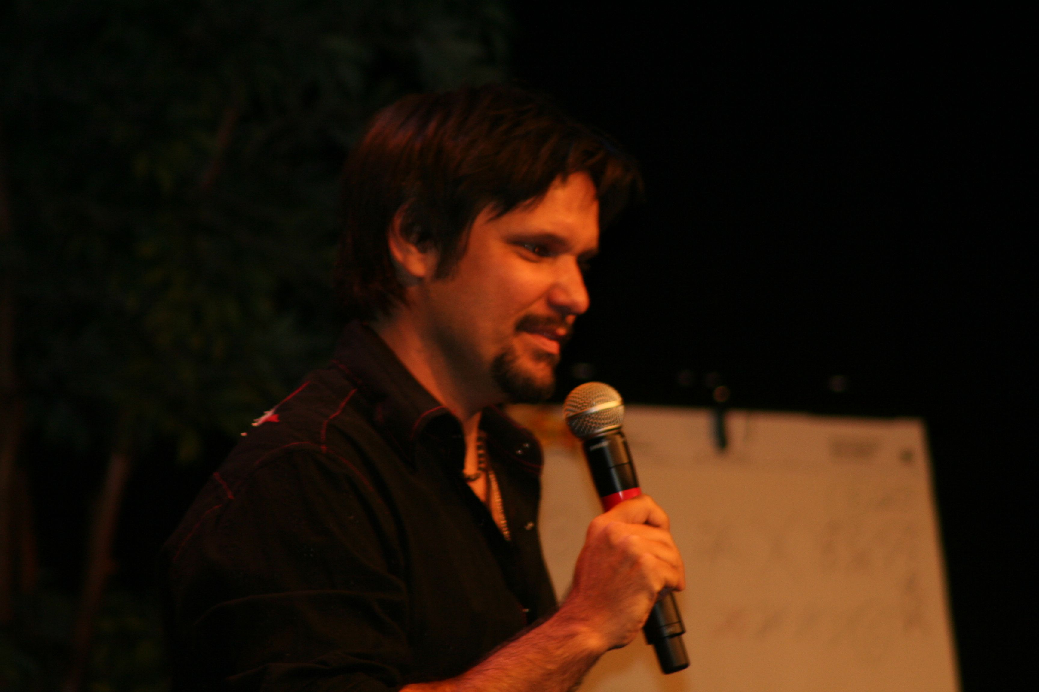 Ted Dekker at the Gathering 2008