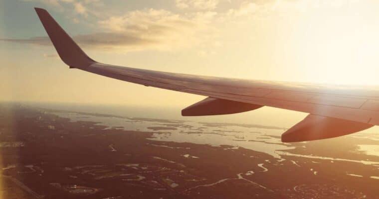 plane travel with children