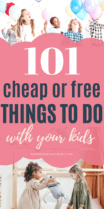things to do with kids playing