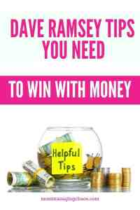 If you are trying to budget your money, pay of debt, or save money, check out these tips to start winning with your money, today!