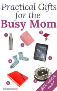 practical gift ideas for busy moms