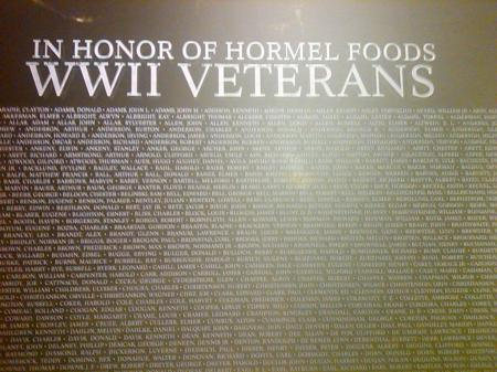 Hormel WWII Display